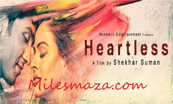 Upcoming movie on Indian #Cinema: #Heartless is an upcoming #Bollywood movie directed by #ShekharSuman and produced by Alka Suman that is scheduled to release on 7th February, 2014. Heartless is Shekhar Suman's tribute to his elder son Aayush who passed away due to an incurable heart disease. The movie stars #AdhyayanSuman and Ariana Ayam in the main lead, and veterans like Deepti Naval, Shekhar Suman, Om Puri and Madan Jain in supporting roles.