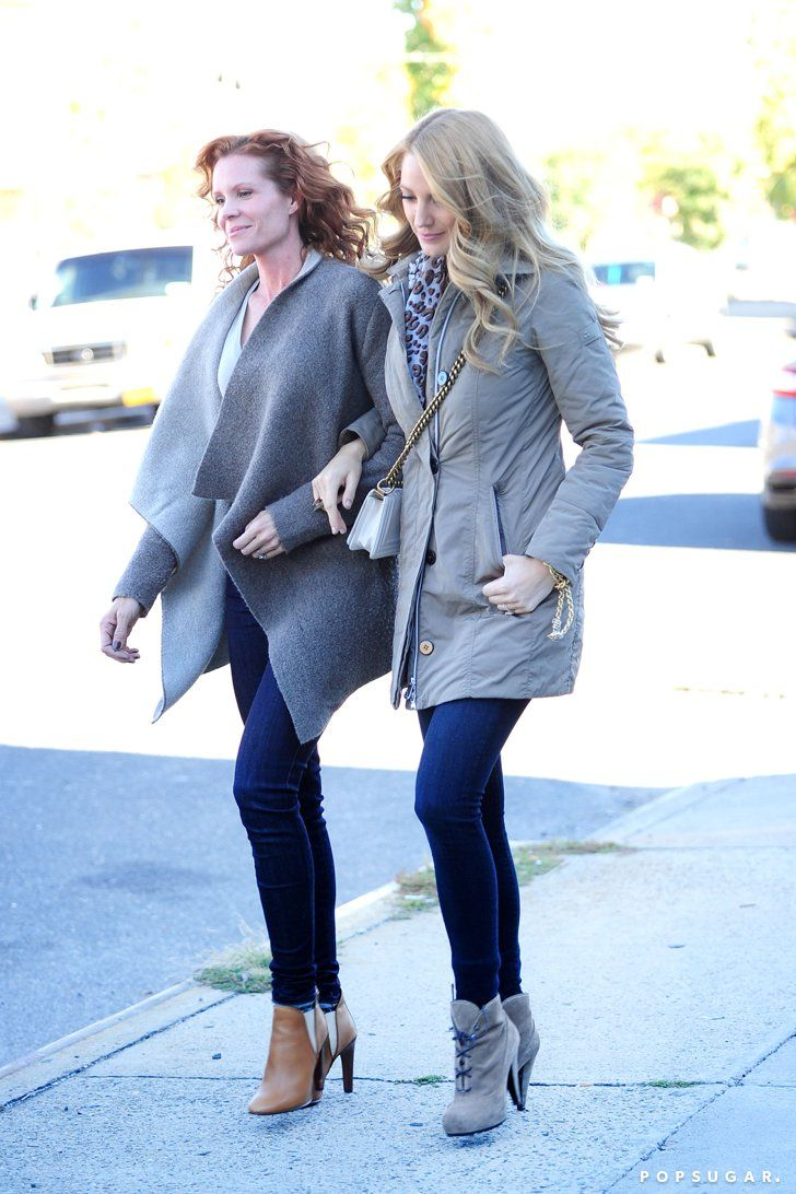 Pin for Later: Blake Lively and Her Sister Robyn Step Out Arm in Arm in NYC