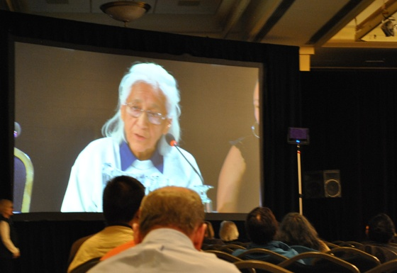 Isabelle Knockwood, at the Truth and Reconciliation Commission of Canada national event, Halifax, 2011