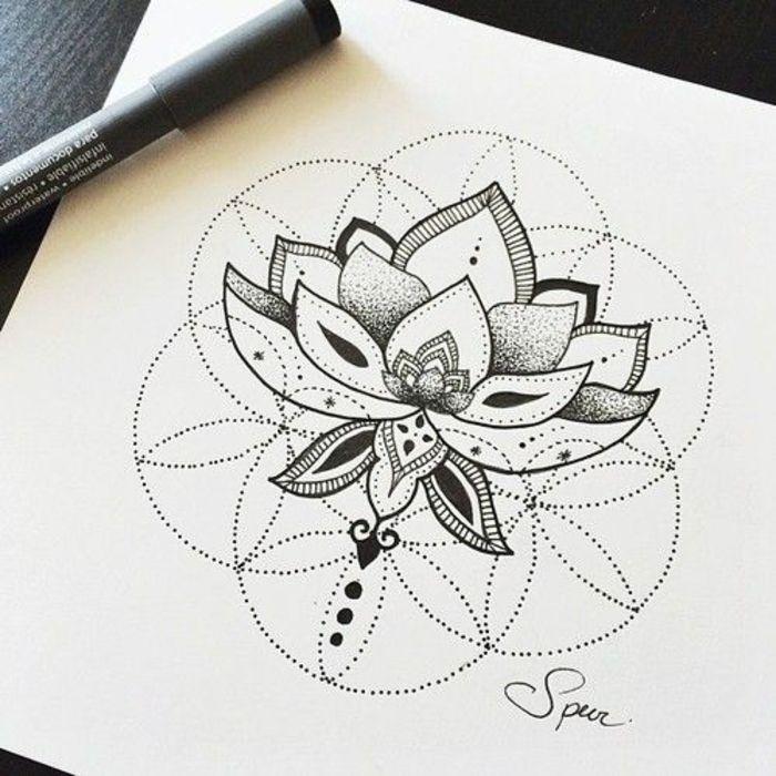 Significations tatouages tatouages géométriques