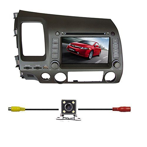 Special Offers - BlueLotus for Honda Civic 2006 2007 2008 2009 2010 2011 In-dash 7 Touchscreen DVD Player GPS Navigation AM/FM Radio Bluetooth RDS SD/USB iPod AV  Reverse Car Rear Camera  Free USA Map - In stock & Free Shipping. You can save more money! Check It (January 20 2017 at 05:09AM)…