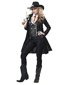 Round Em Up Cowgirl Adult Womens Costume