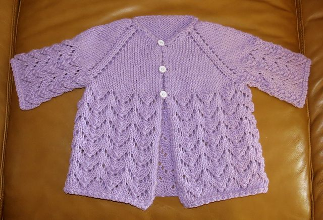 Summer Chills Cardigan -- free pattern