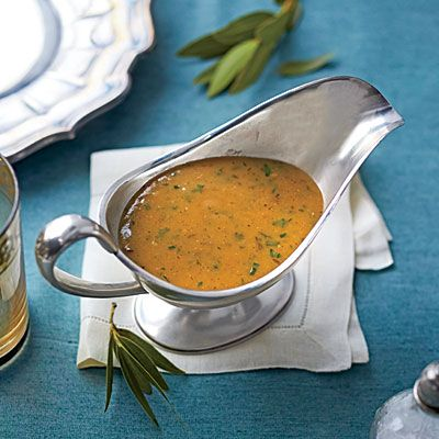 The Ultimate Make Ahead Gravy   Our fail-safe secret for the world's best gravy: make it a day ahead.