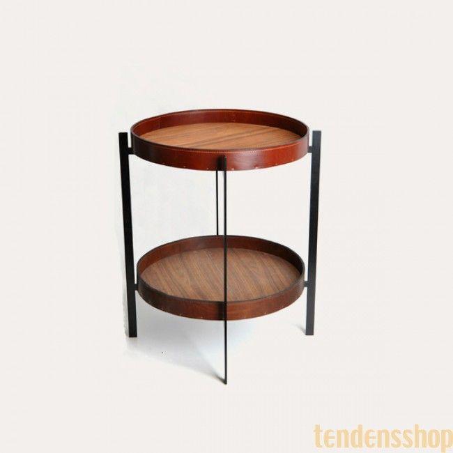 Deck Table fra OX Design fås med enten bakker eller marmorskiver i forskellige farver #oxdesign #bakkebord #design #boligindretning