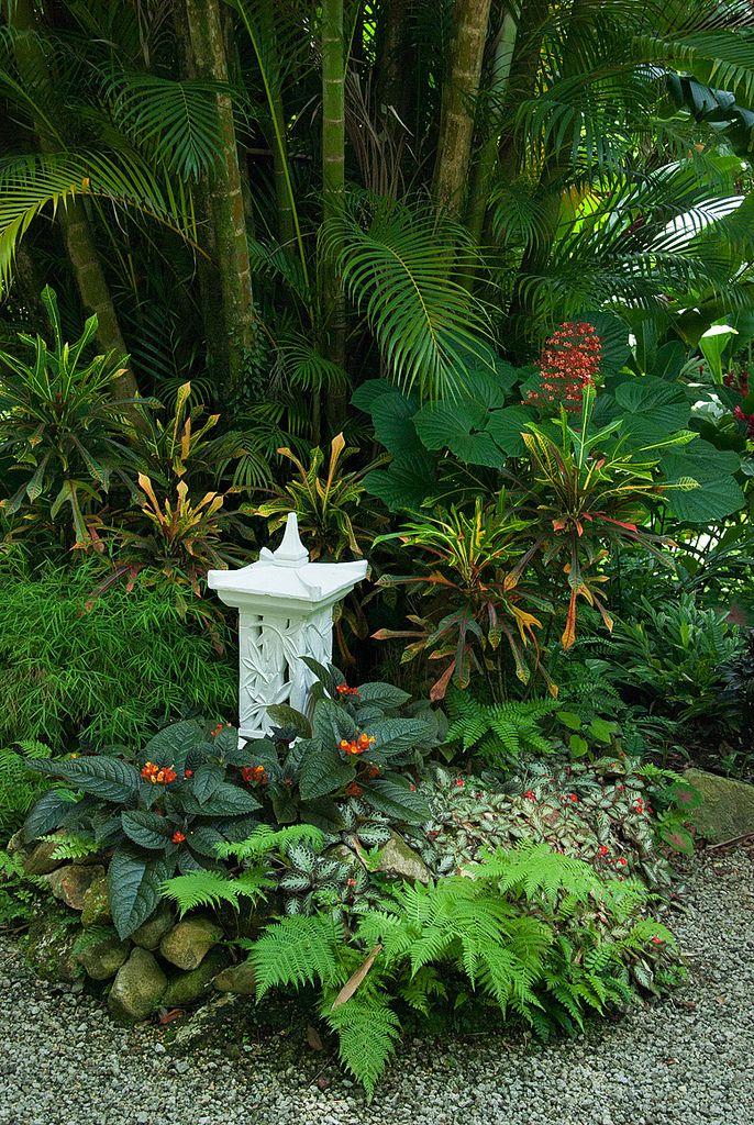 Diamond Botanical Garden, Saint Lucia.