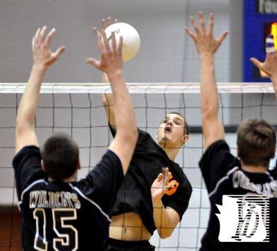 Northeastern boys rally to defeat Dallastown in volleyball on Thursday.Boys Volleybal, Northeastern Boys, Boys Rally