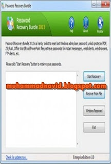 Password Recovery Bundle 2013 v3 Free Download ~ Tech Journey  assword Recovery Bundle 2012 is a handy toolkit to recover all your lost or forgotten passwords in an easy way! Quickly recover or reset passwords for Windows, PDF, ZIP, RAR, Office.