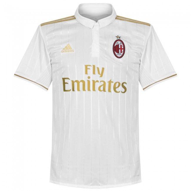 Camiseta del AC Milan 2016-2017 Visitante #acmilan #serieA