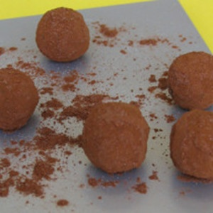 Charles Chocolates Bittersweet Chocolate Truffles Recipe