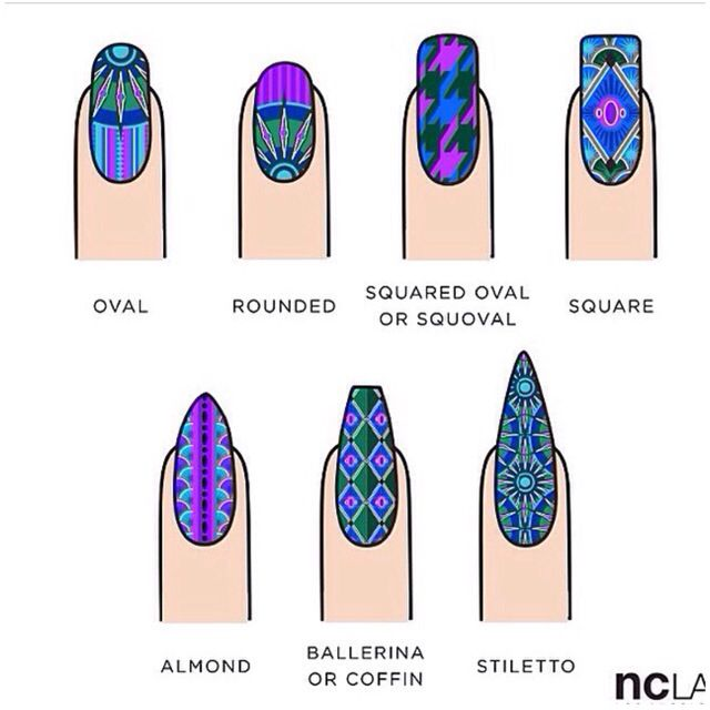 384 best nail trends images on pinterest acrylic nail art different nail shapes prinsesfo Image collections