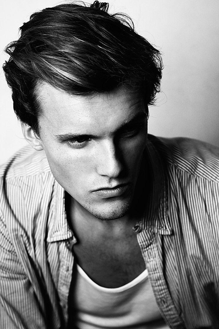 Swedish Model Jakob Henrik Klasson at Independent Men Milano & EB models posing for a portrait session by photographer Migle Golubickaite