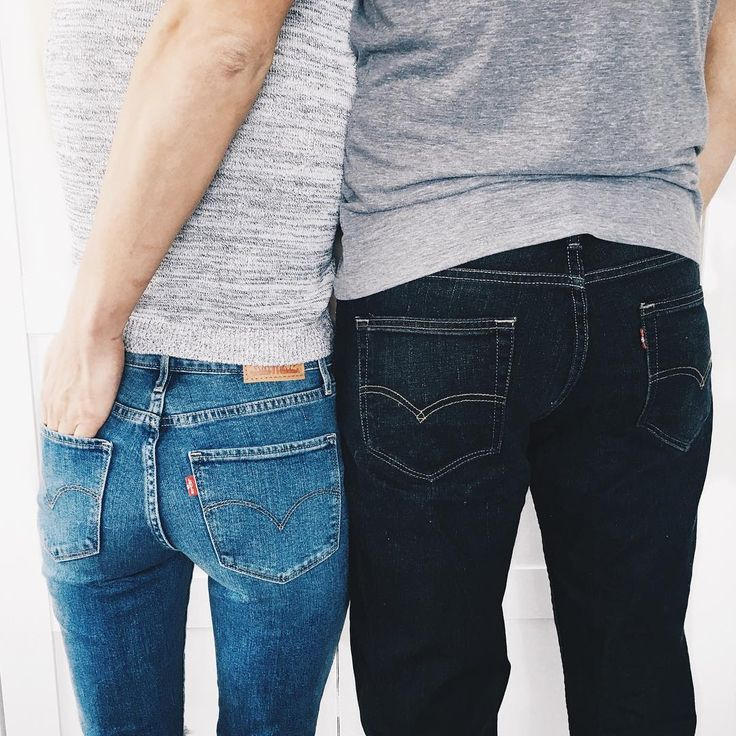 Obviously we have a thing for Levi's.    #liveinlevis #levis #jeans #classics    Grey Henry
