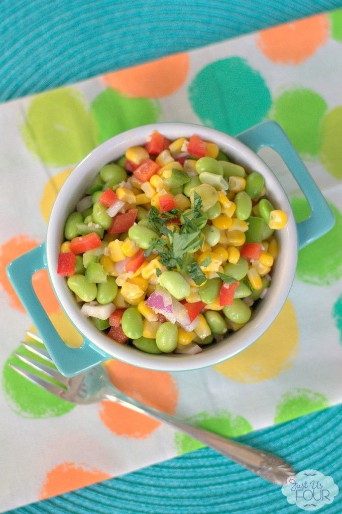 Succotash Salad - Just Us Four