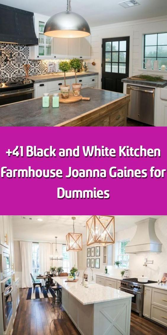 41 black and white kitchen farmhouse joanna gaines for dummies in 2020 farmhouse kitchen on farmhouse kitchen joanna gaines design id=38381