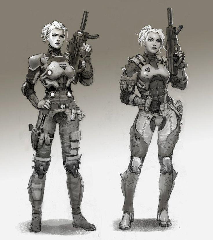 norah epstein by AlexPascenko on deviantART #sci-fi #cyberpunk