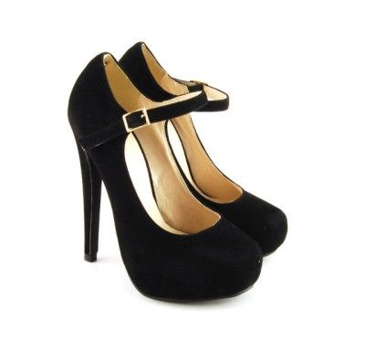 Pantofi negri cu toc si platforma, produs recomandat de StyleAndTheCity http://www.styleandthecity.ro/pantofi-negri-cu-toc-si-platforma-produs-recomandat