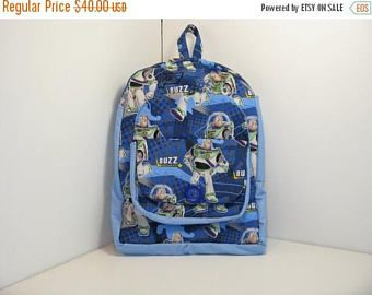 HOLIDAYS SALE Buzz In Blue Preschool Backpack