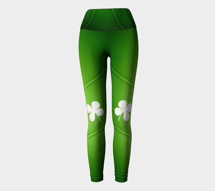 10 dollars off!, St Patricks day, 4 leaf clover, shamrock leggings, green and white leggings, Irish leggings, shamrock leggings by ImagineAvalon on Etsy https://www.etsy.com/listing/499230854/10-dollars-off-st-patricks-day-4-leaf