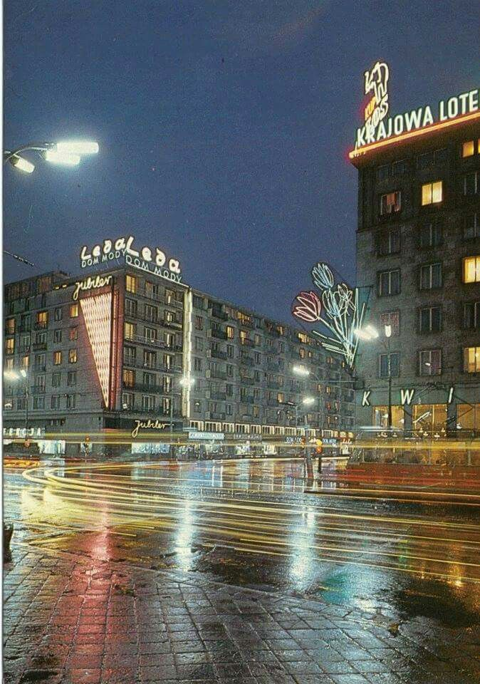 Al. Jerozolimskie / Krucza, 1976