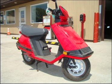 Honda Elite 80 - Red