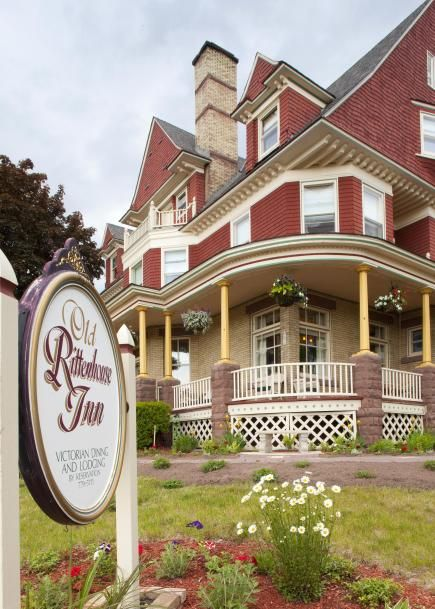 Old Rittenhouse Inn, Bayfield, Wisconsin We stayed here Valentine's weekend 2015!!!