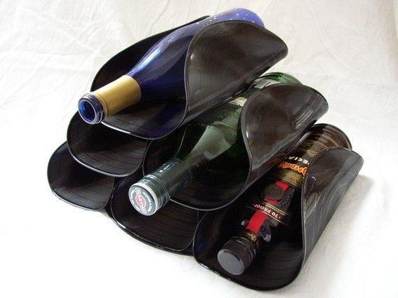vinyle rangement bouteille
