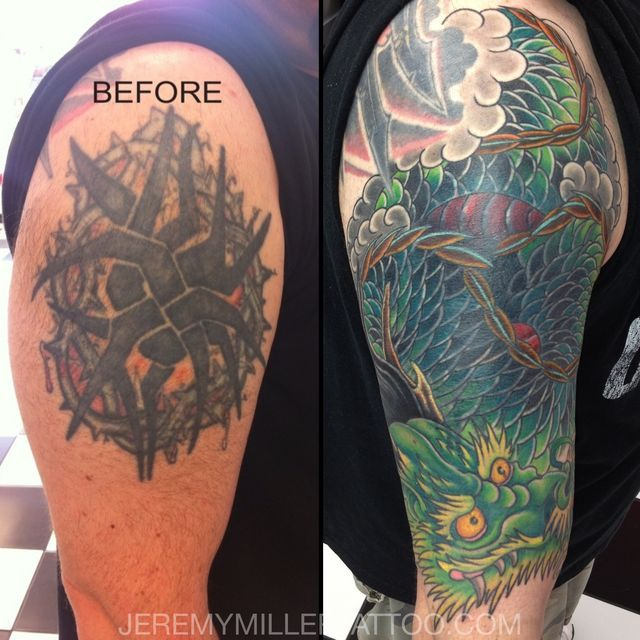 28 best images about greg 39 s cover up on pinterest lion for Cool cover up tattoos