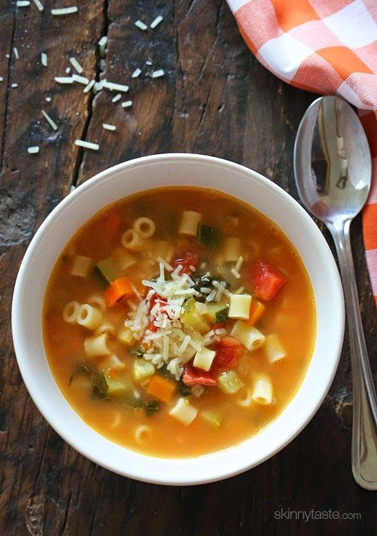 21 Day Fix Recipes: Crockpot Minestrone Soup