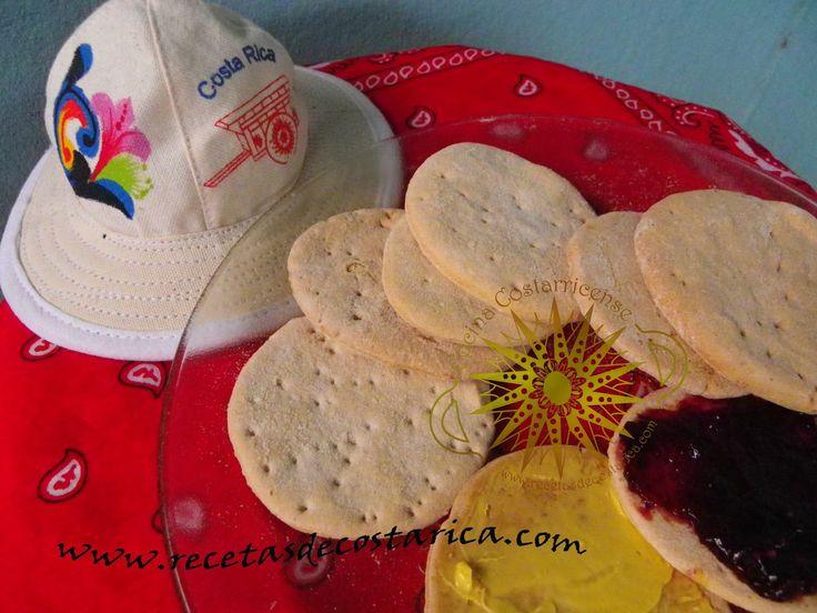 Cocina Costarricense: galletas de panadería