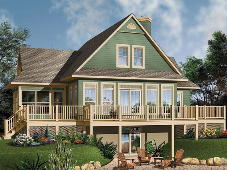 14 best drive under house plans images on pinterest | country