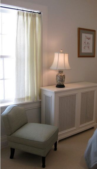 The Goal:  Disguise A Window Unit Air Conditioner