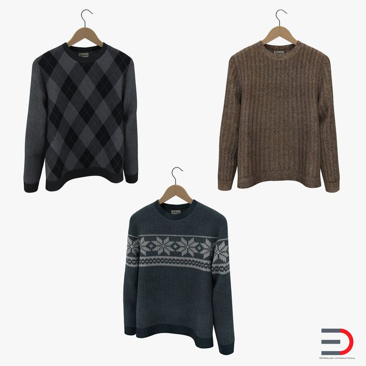 Sweaters on Hanger Collection