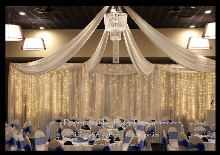 #weddingdraping #ceilingdraping #backdropfairylights #theming available at #poshdesignsweddings - #sydneyweddings #southcoastweddings #wollongongweddings #canberraweddings #southernhighlandsweddings #campbelltownweddings #penrithweddings #bathurstweddings #illawarraweddings  All stock owned by Posh Designs Wedding & Event Supplies – lisa@poshdesigns.com.au or visit www.poshdesigns.com.au or www.facebook.com/.poshdesigns.com.au #Wedding #reception #decorations #Outdoor #ceremony decorations