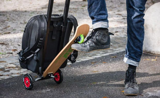 Olaf Scooters - Trolley und Scooter in einem!