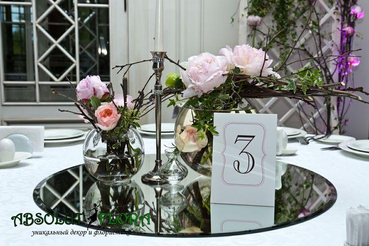 """Декор свадьбы в стиле """"Старинный Английский сад"""" www.absolutflora.ru"""