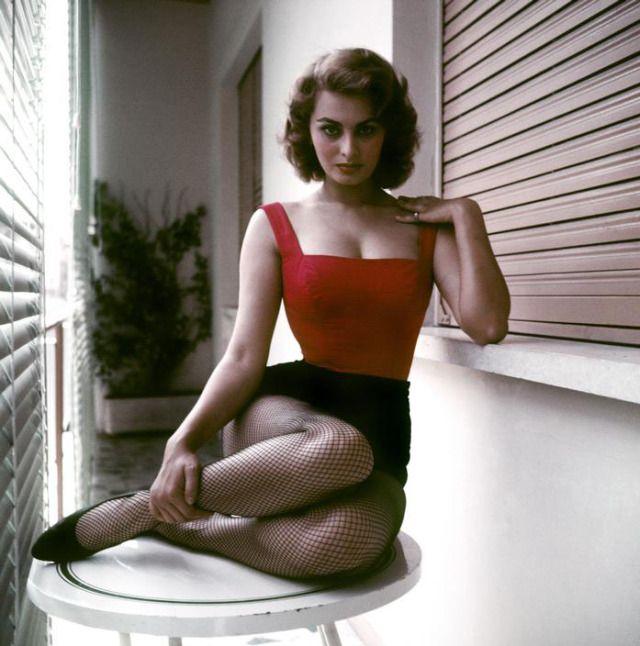 {stunning Sophia Loren} David Seymour, Rome, 1955