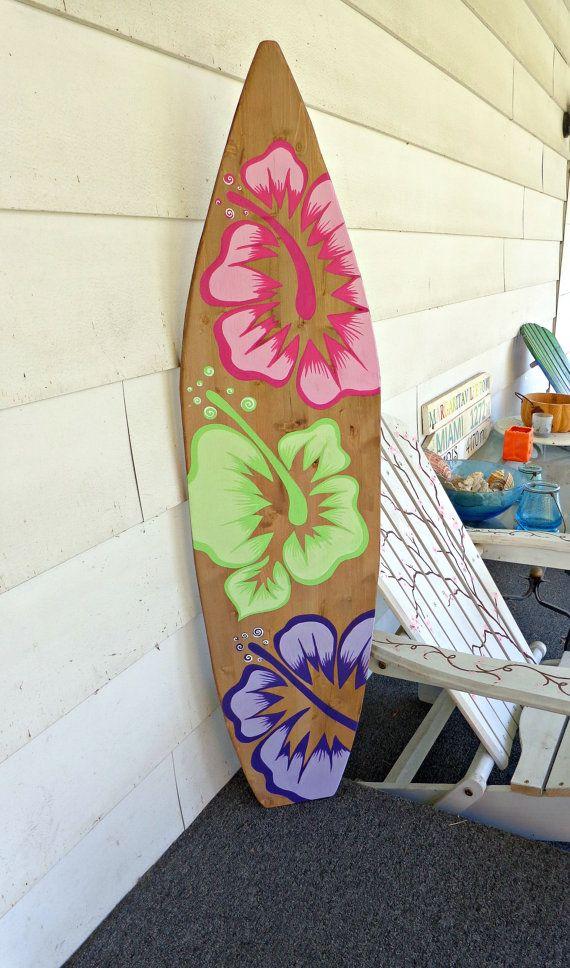 4 Foot Wood Hawaiian Surfboard Wood with by SerendipitySurfShop, $79.99
