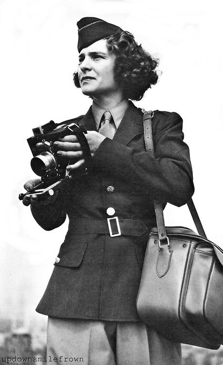 Photographer Margaret Bourke-White, by Alfred Eisenstaedt