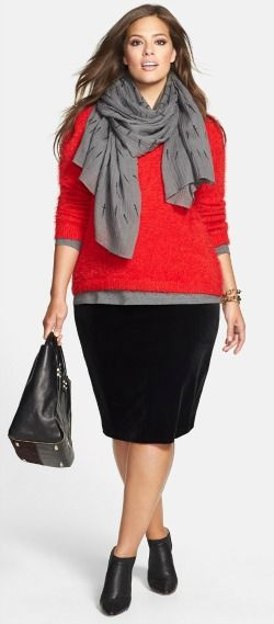 How To Wear a Pencil Skirt If You Have a Midlife Middle