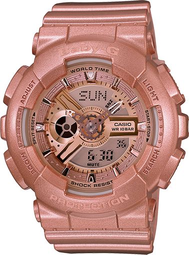 Woohoo! Gotta have one! Baby-G Pink BA111-4A
