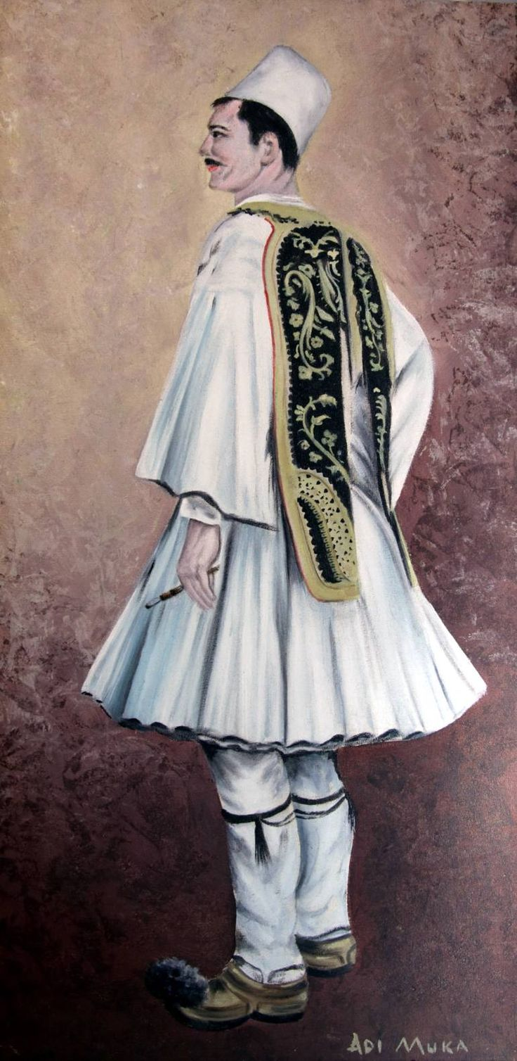 Albanian Provinces Dress by Adrian Muka