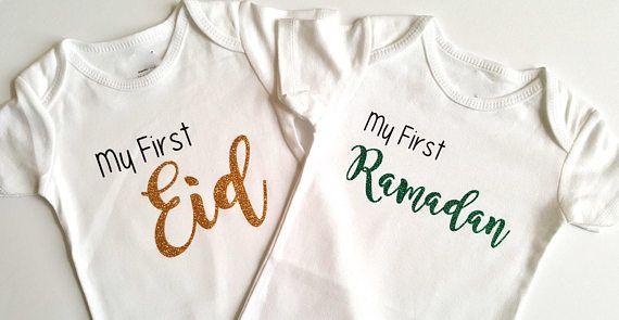 Check out this item in my Etsy shop https://www.etsy.com/ca/listing/522734923/my-first-eid-ramadan-bodysuit-set-eid