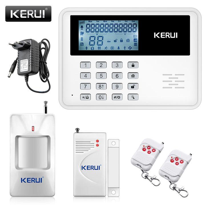 2017 KERUI 5900G intelligent Android IOS app télécommande Sans Fil de Sécurité À Domicile SIM SMS GSM Système D'alarme Kit + grand ÉCRAN LCD écran