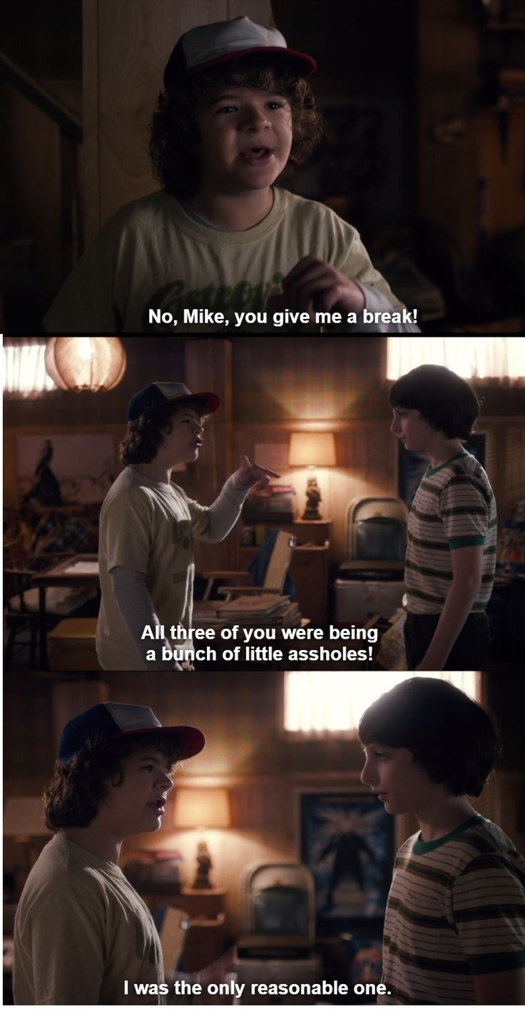 Dustin Henderson and Mike Wheeler - Stranger Things