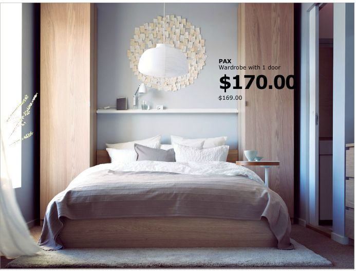 Great Love The Tall, Narrow Wardrobes On Either Side Of The Bed For Additional  Storage In · Small BedroomsAttic ...