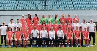 sport photo retro: Russian women's team 2017