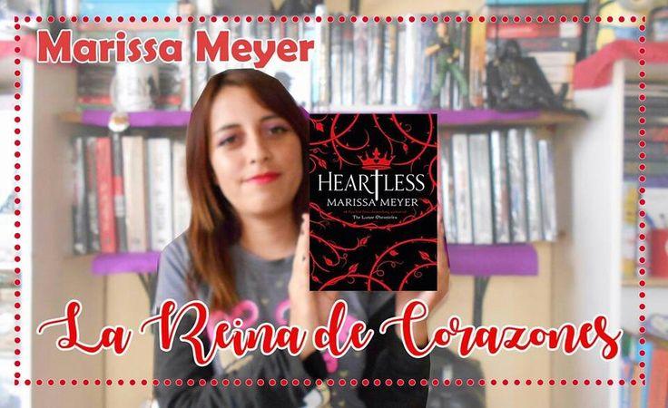 Heartless es un retelling creado por Marissa Meyer sobre la Reina de Corazones y a mi ¡me ha encantado! Checa la reseña. Traído por VRyA https://www.youtube.com/watch?v=4WRqdF9-FIA