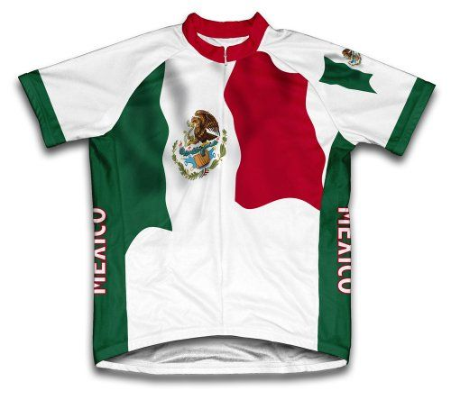 Mexico Flag Short Sleeve Cycling Jersey for Men  Size 2XL ** Visit the image link more details. Note:It is affiliate link to Amazon.