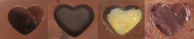 Bombones de chocolate y menta tipo after eight